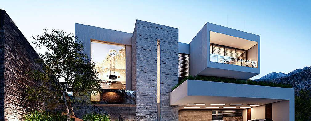 Casas de estilo moderno por Nova Arquitectura