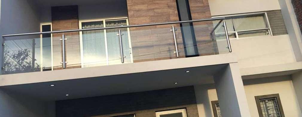 Barandillas exteriores de hierro gallery of diferentes for Balcones madera exterior