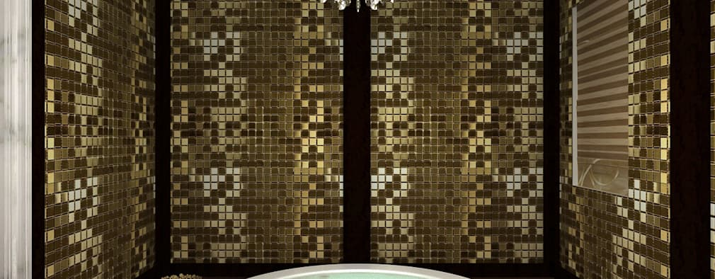 RESIDENTIAL CLASSICAL INTERIORS: classic Bathroom by De Panache  - Interior Architects