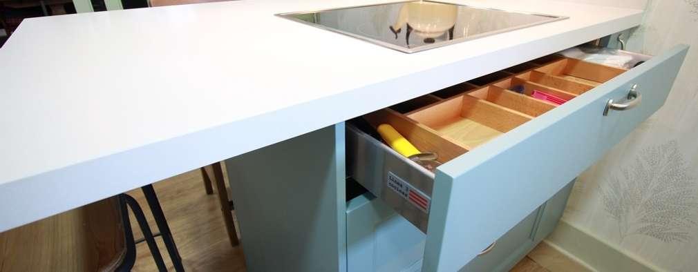 5 Modelos de islas de cocina de madera para que los fabriques ya mismo