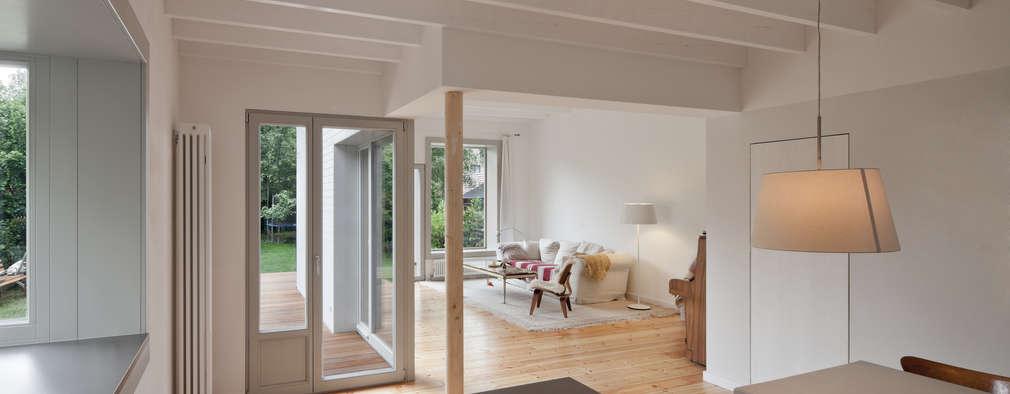 Projekty,  Salon zaprojektowane przez brandt+simon architekten