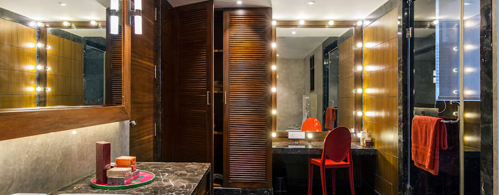 eclectic Bathroom by freedom of design