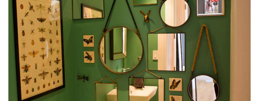 Projekty,  Łazienka zaprojektowane przez La Bocheria