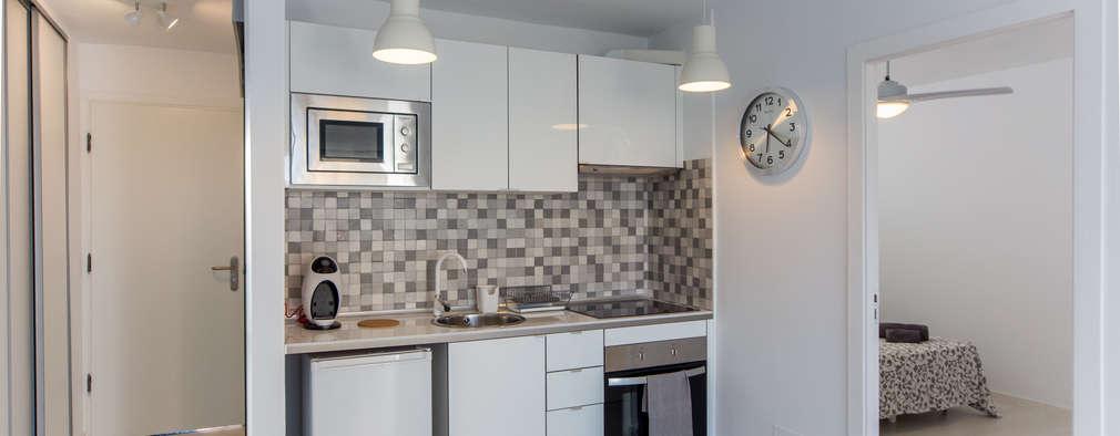 17 cocinas abiertas para espacios peque os for Cocinas para espacios pequenos