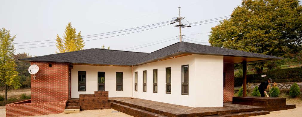 modern Houses by 건축사사무소 재귀당