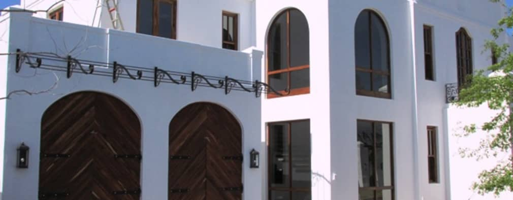 Kiaat Arched Doors + Windows :  Windows by Window + Door Store Cape