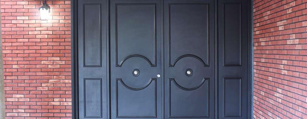 CASA VINTAGE ARQUIMIA ARQUITECTOS: Ventanas de estilo  por Arquimia Arquitectos