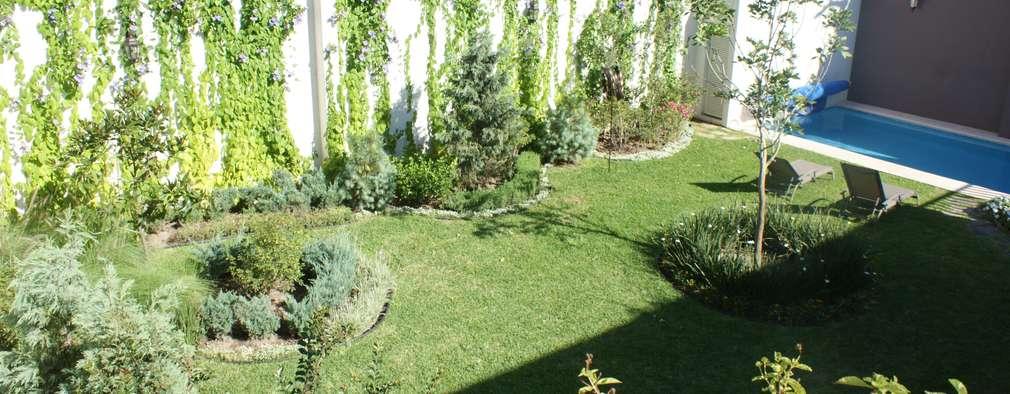 16 fant sticas ideas para decorar las paredes de tu patio for Modelos de patios y jardines