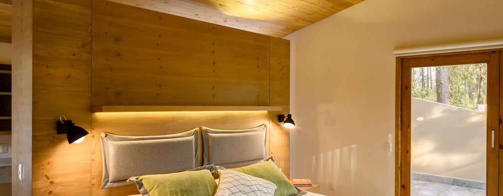 Habitaciones de estilo escandinavo por Weber Arquitectos