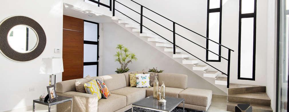 Гостиная в . Автор – PORTO Arquitectura + Diseño de Interiores