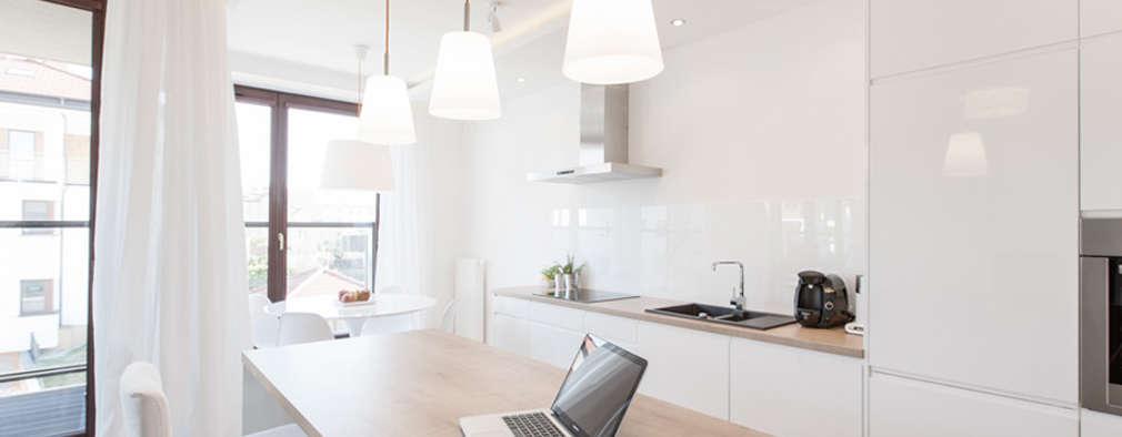 minimalistische Keuken door Perfect Space