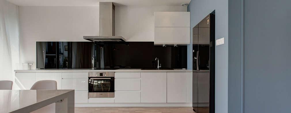 Klasyka i design: styl , w kategorii Kuchnia zaprojektowany przez Perfect Space