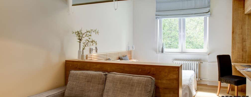 Salas / recibidores de estilo moderno por Perfect Space