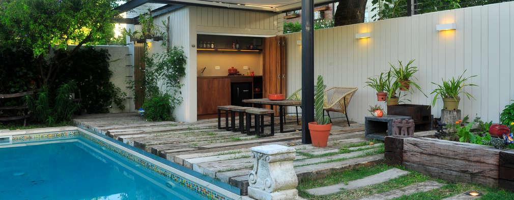 modern Garden by Paula Herrero | Arquitectura