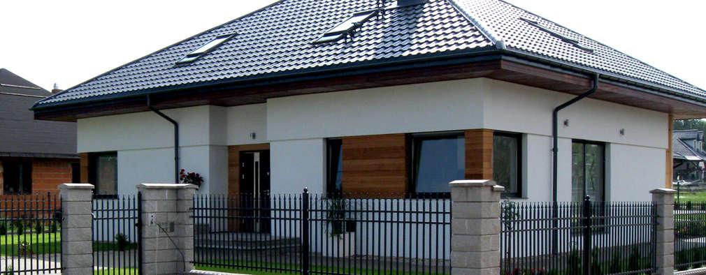 11 casas con techo a cuatro aguas fant sticas for Materiales para techos de casas