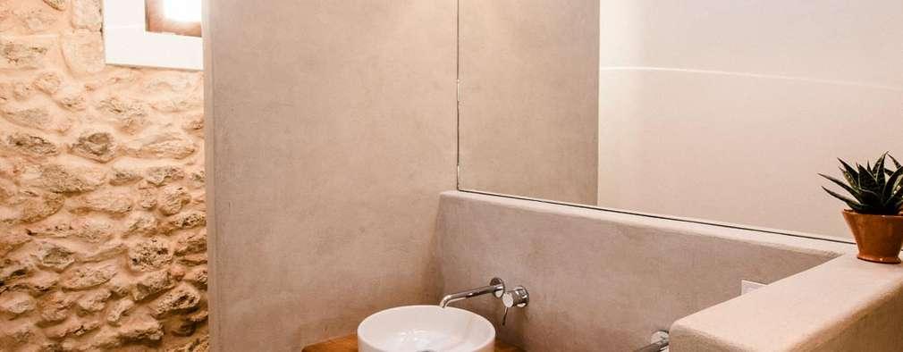 Ibiza Campo - Guesthouse: mediterranean Bathroom by Ibiza Interiors - Nederlandse Architect Ibiza