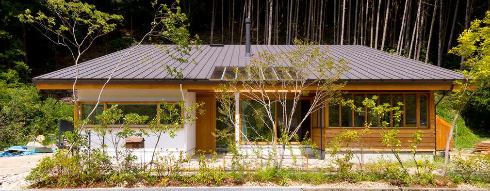 Casas de estilo escandinavo por エイチ・アンド一級建築士事務所 H& Architects & Associates