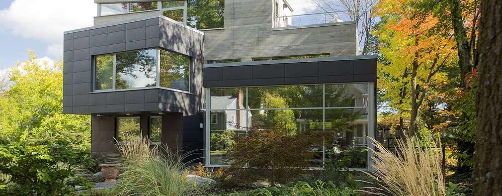 Energy efficient homes that don 39 t skimp on style for Construcciones de casas modernas
