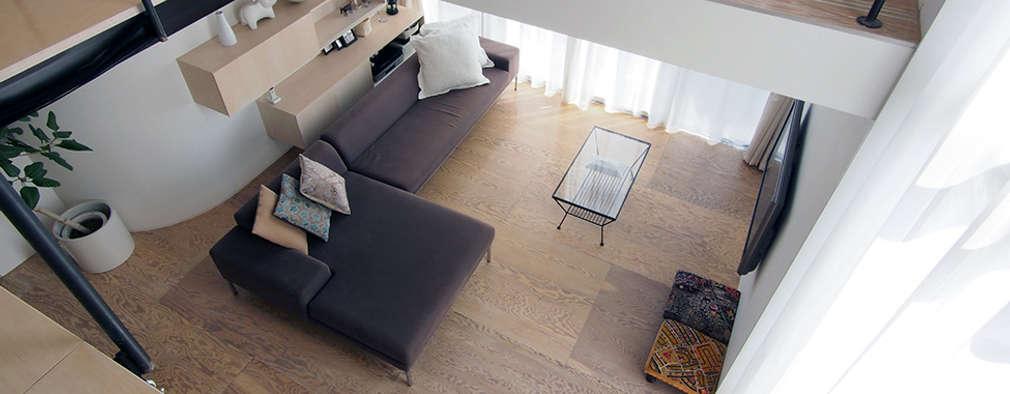 Столовые комнаты в . Автор – 桑原茂建築設計事務所 / Shigeru Kuwahara Architects