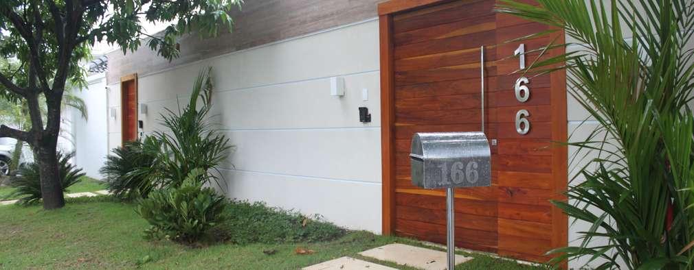 Casa moderna bonita por fora e incr vel por dentro for Ver fotos casas modernas por dentro