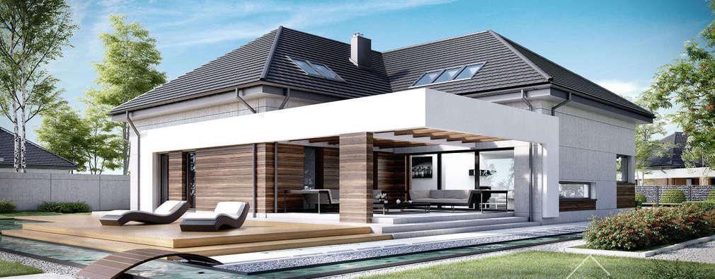 modernes einfamilienhaus mit viel platz. Black Bedroom Furniture Sets. Home Design Ideas