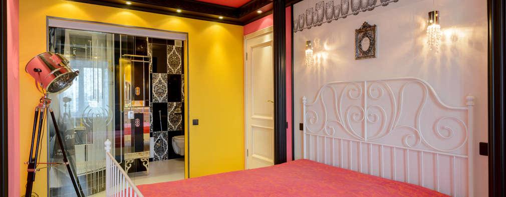 eclectic Bedroom by MARIA MELNICOVA студия SIERRA