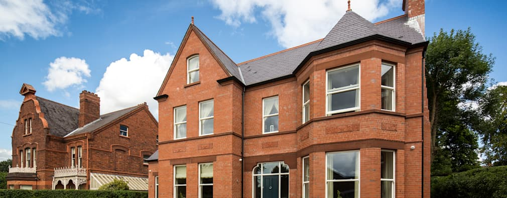 This victorian style home is actually a fab new build for New victorian style homes