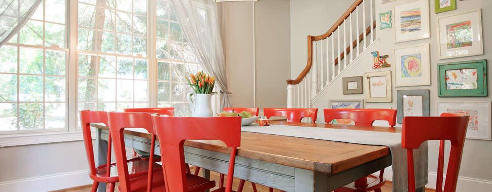 Ruang Makan by Larina Kase Interior Design
