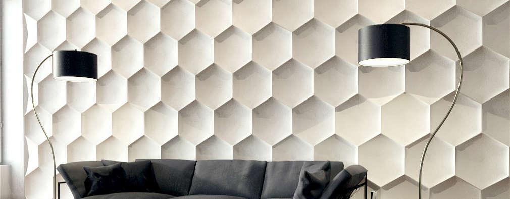 10 revestimientos en 3d que har n que tus paredes se vean ultra modernas - Recubrimientos de paredes ...