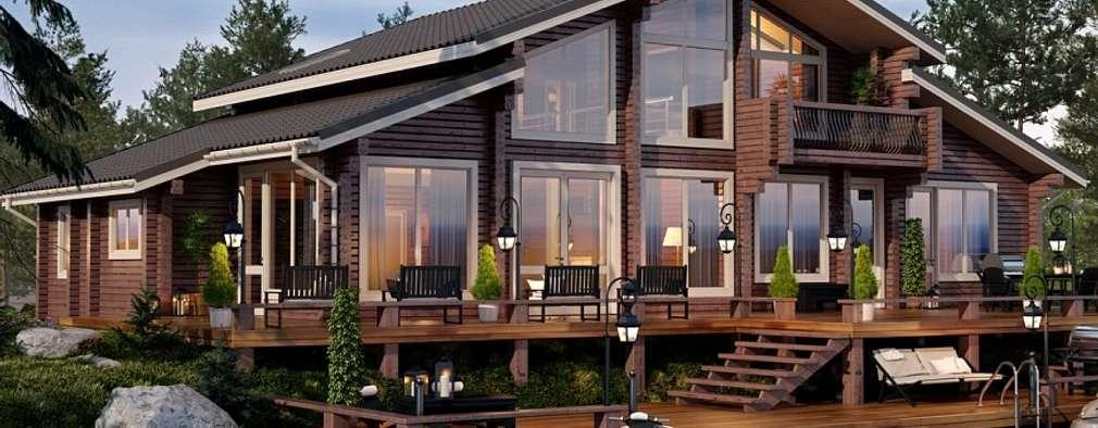 scandinavische Huizen door GOOD WOOD