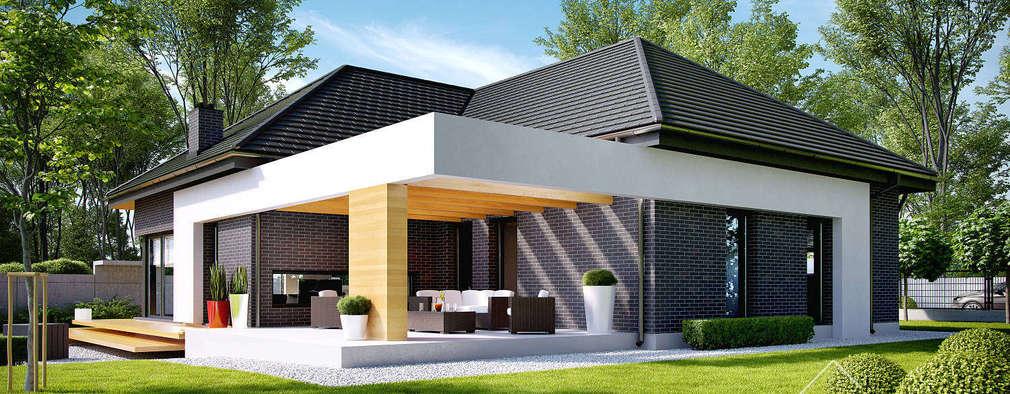 14 klein erige huise om van te droom for Modelos de techos metalicos para casas