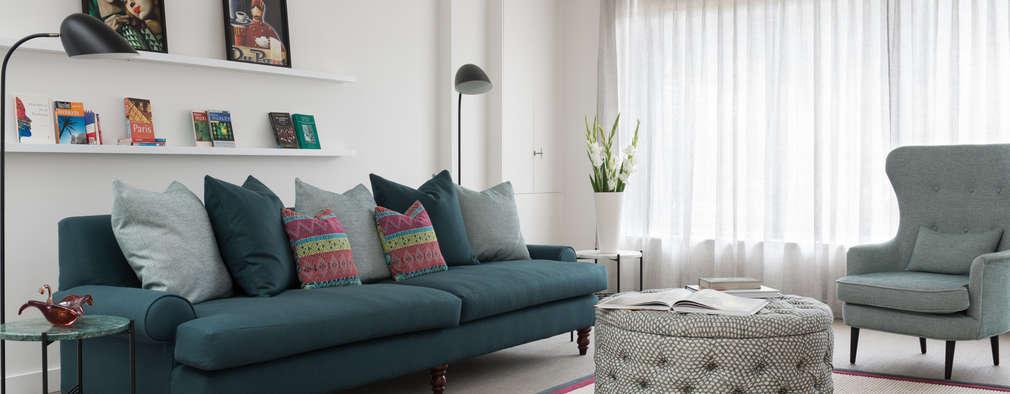 Salas de estilo moderno por Maklin & Macrae