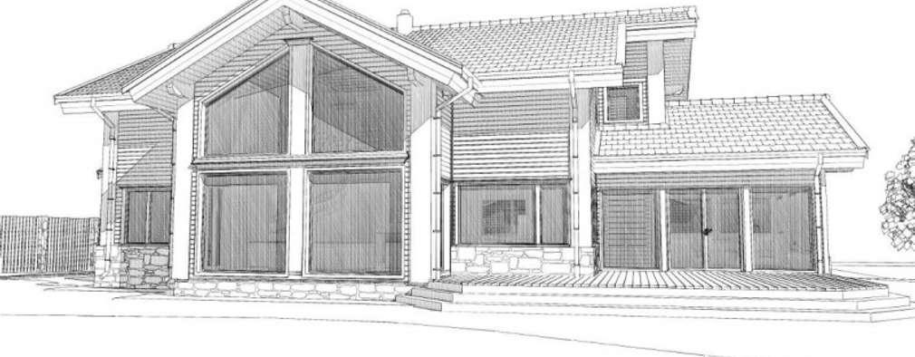 Projekty, skandynawskie Domy zaprojektowane przez META-architects архитектурная студия