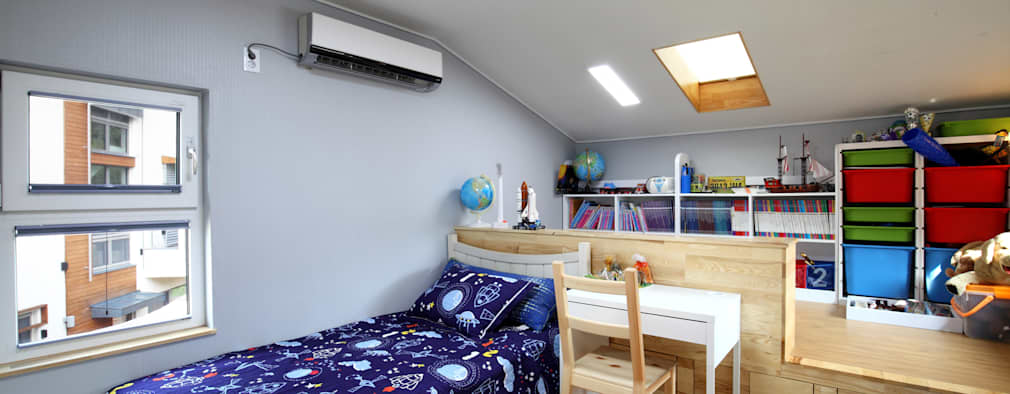 Kamar Bayi & Anak by 주택설계전문 디자인그룹 홈스타일토토