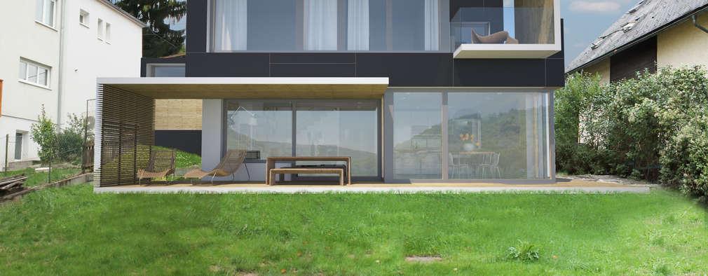 maison chaleureuse simple et moderne. Black Bedroom Furniture Sets. Home Design Ideas