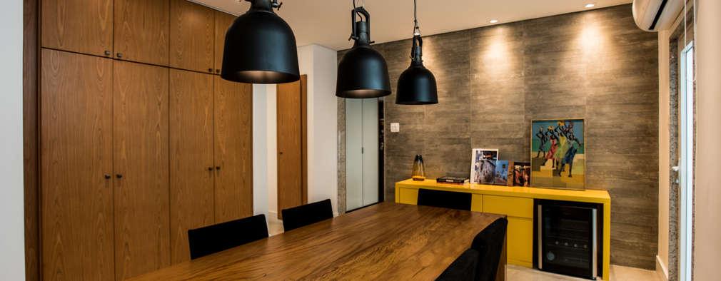 Comedores de estilo moderno por L2 Arquitetura