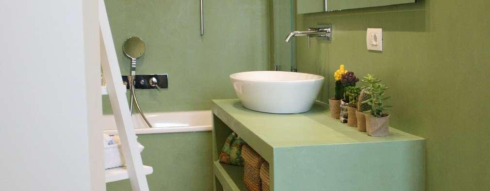 eclectic Bathroom by studio ferlazzo natoli