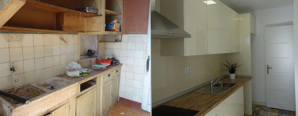 Happy Ideas At Home - Arquitetura e Remodelação de Interiores: modern tarz Mutfak
