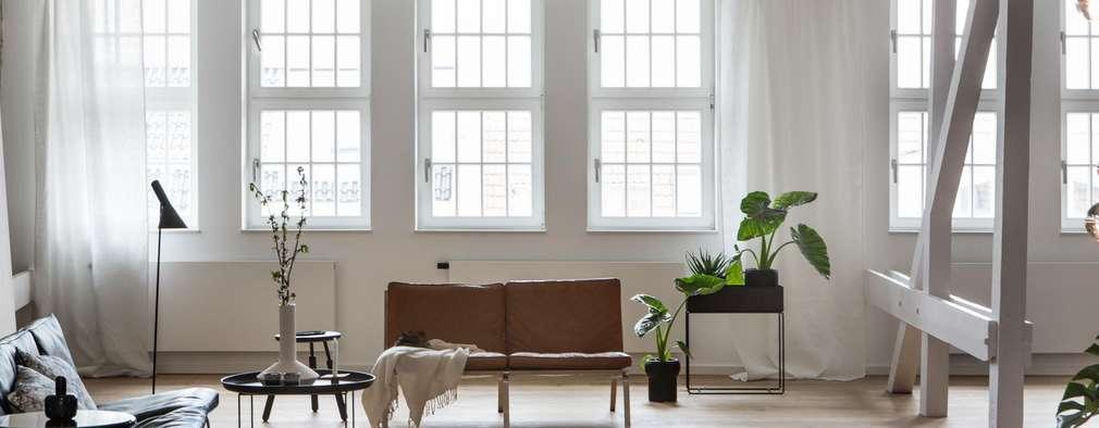moderne Woonkamer door Design for Love