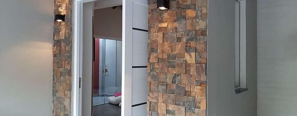 13 ideas con piedra para remodelar la entrada de tu casa for Como remodelar mi casa