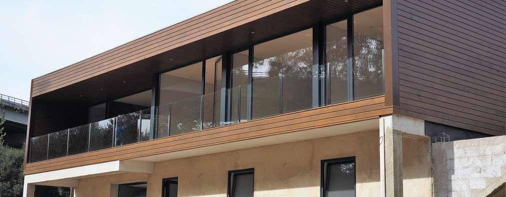 Casas de estilo moderno por Lethes House