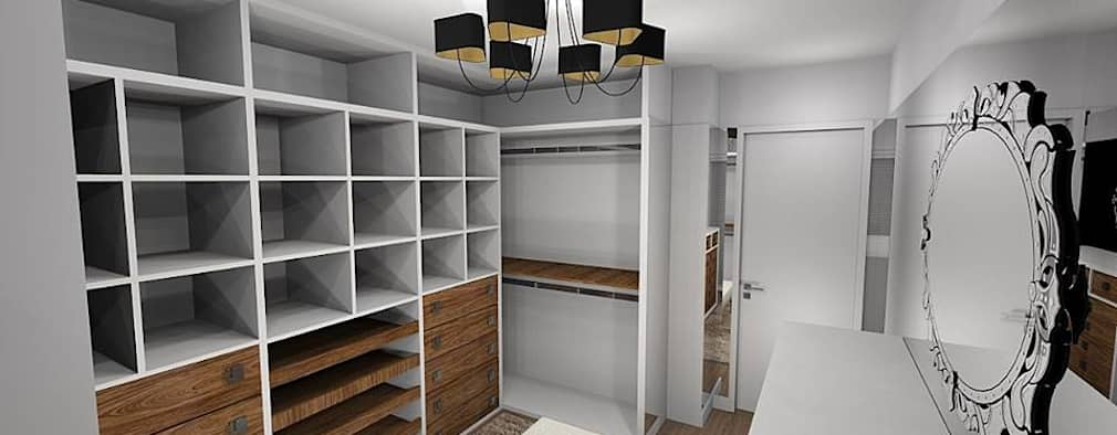 Closets de estilo moderno por Danielle Barbosa DECOR|DESIGN