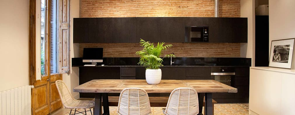 modern Kitchen by Brick construcció i disseny