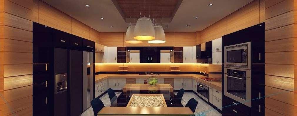 Cocinas de estilo moderno por triangle