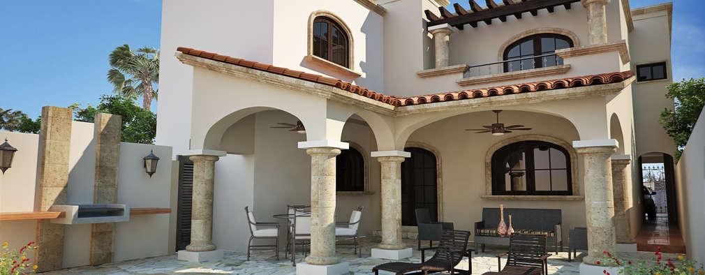 Casa San Lorenzo: Casas de estilo moderno por Gestec