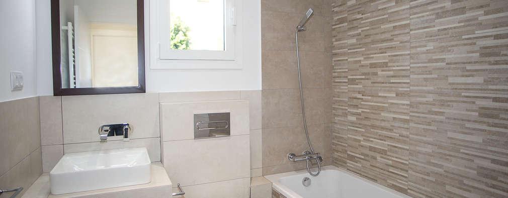 modern Bathroom by Grupo Inventia