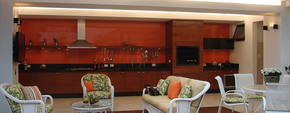 Casas de estilo moderno por THEROOM ARQUITETURA E DESIGN