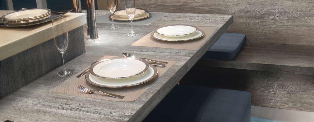 La exclusiva calidad FORMICA es el principal atributo con el que cuenta la Línea Premium.: Comedores de estilo moderno por FORMICA Venezuela