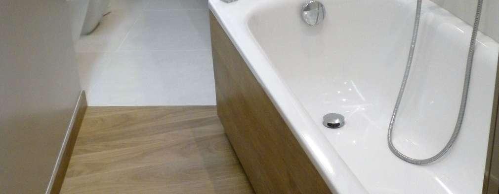 Projekty,  Łazienka zaprojektowane przez Architetto Alberto Colella