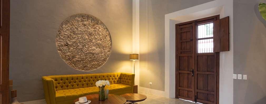 15 ideas para revestir las paredes del living con piedra for Revestir y decorar